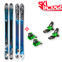 FORCE FRX Sidewall Skis 180cm with Binding Package