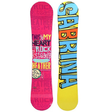 Sabrina Heather 144cm Triple Rocker Snowboard