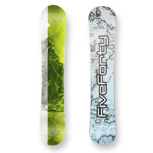 Five Forty Snowboard Beach Green Camber Sidewall 155cm