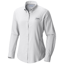 Columbia Womens Tamiami II Long Sleeve Shirt - White