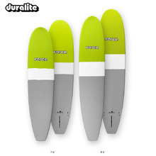 Force Mini Mal Duralite Lime/Grey Surfboard