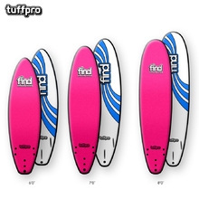 FIND™ TuffPro Thruster Soft Surfboard Pink