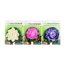 Yard Master Floating Eva Lily Pad On Tie Card 3 Assorted Colors