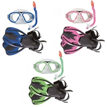 Hammerhead Nipper Mask, Snorkel and Fin Set Kids