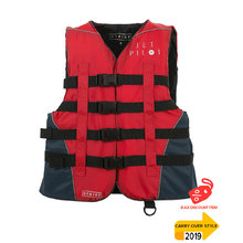 JetPilot Strike Nylon Ladies PFD Vest - Red Level 50