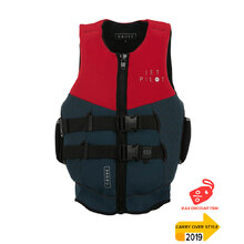 JetPilot Cause Segmented Front Entry Level 50 Neo Vest - Red