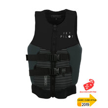JetPilot Cause Ladies Front Entry Level 50S Neo Vest - Black