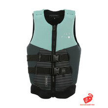 JetPilot Cause Segmented Front Entry Level 50S Neo Vest - Teal