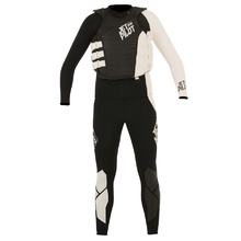 JetPilot Matrix Pro Men's Race Wetsuit & Impact Vest - Black/White