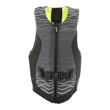 JetPilot Cause Rev Front Entry Ladies Neo Vest Level 50 - Charcoal/Yellow