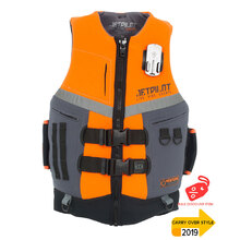 JetPilot Venture Mens Front Entry Neo Vest Level 50 - Orange