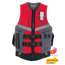 JetPilot Venture Mens Front Entry Neo Vest Level 50 - Red