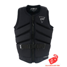 JetPilot Freeride Mens Front Entry Neo Vest - Black