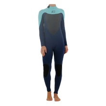JetPilot Flight 3X2 Long Sleeve Ladies Steamer - Teal