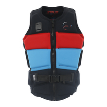 JetPilot C4 Tony Mens Front Entry Neo Vest - Red