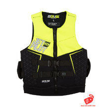 JetPilot The Cause L50 F/E Neo Men's PFD Vest - Yellow Level 50