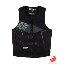 JetPilot The Cause L50S F/E Neo Men's PFD Vest - Black/Charcoal