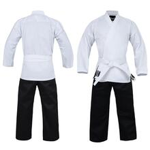 DRAGON KARATE SALT & PEPPER UNIFORM (8oz)