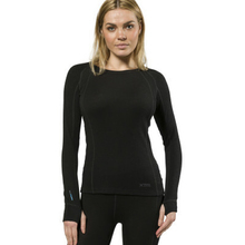 XTM Adult Female Thermal Tops Merino Ladies Top 230GSM Black