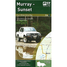 Spatial Vision Murray - Sunset 4WD Map