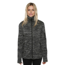 XTM Adult Female Active Jackets Crusade Ladies Fleece Jacket Dark Grey