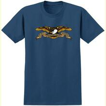 Antihero Skateboard Tee Eagle Harbor Blue