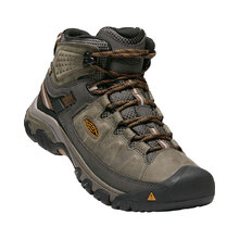 Keen Targhee III Mid Waterproof Mens - Black Olive Golden Brown