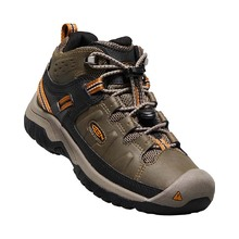 Keen Targhee Mid Waterproof Youth - Dark Earth Golden Brown