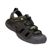 Keen Solr Sandal Mens Shoes - Black Gold