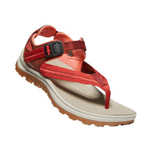 Keen Terradora II Toe Post Womens Shoes - Dark Red Coral