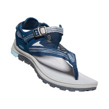 Keen Terradora II Toe Post Womens Shoes - Navy Light Blue