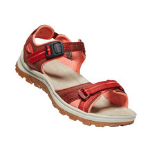 Keen Terradora II Open Toe Sandal Womens Shoes - Dark Red Coral