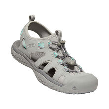 Keen Solr Sandal Womens Shoes - Light Gray Ocean Wave