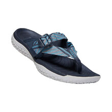 Keen Solr Toe Post Womens Shoes - Navy Blue Mist