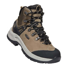 Keen Wild Sky Mid WP Womens Shoes - Brindle Black