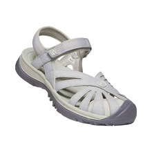 Keen Rose Sandal Womens Shoes - Light Gray Silver
