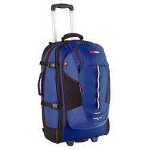 BlackWolf Grand Tour 85 Rolling Travel Pack - Blue
