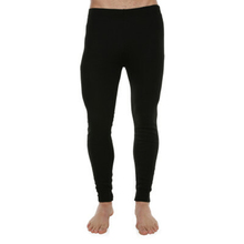 XTM Adult Unisex Thermal Bottoms Unisex Thermal Pant Black
