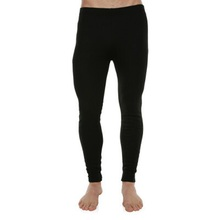 XTM Adult Unisex Thermal Bottoms Plus Size Unisex Polypro Pant Black