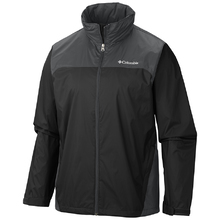 Columbia Men's Glennaker Lake Rain Jacket Black/Grill