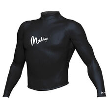 Maddog Men's Long Sleeve Rash Vest Black