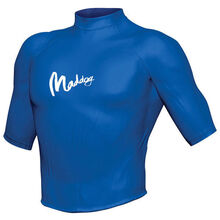 Maddog Men's Short Sleeve Rash Vest Blue