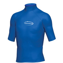 Mirage Junior Lycra Rash Short Sleeve Shirt Blue