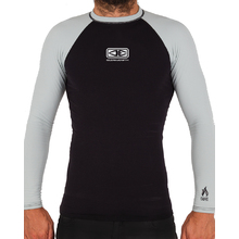 Ocean & Earth Boys Flame Thermo Skin Long Sleeves - Black