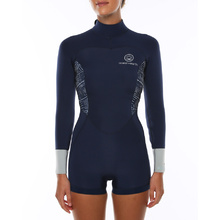 Ocean & Earth Boyleg Long Sleeve Wetsuit - Navy