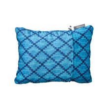Thermarest Compressible Pillow Blue Heather Sleep Pillows Size Large