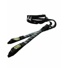Rok Straps Motorcycle Strap Adjustable (25 X 1500) Straps Wide Black/Blue/Green