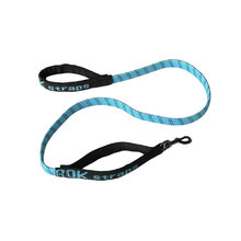 Rok Straps Dog Leash Large - Blue/Black - Large