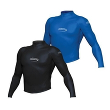 Mirage Heatshield Long Sleeve Rash Top Black