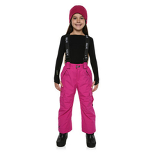 XTM Kid Unisex Snow Trousers Pluto Pant Berry Pink